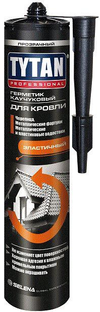 Герметик каучуковый для кровли Tytan Professional (бесцветный) 310 мл.