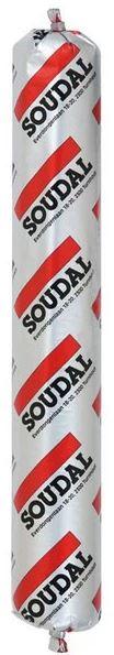 Герметик полиуретановый Soudal Soudaflex 40 FC (черный), 600 мл фото