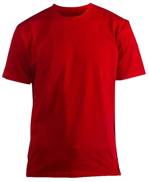 Футболка красная, 60-62 XXL фото