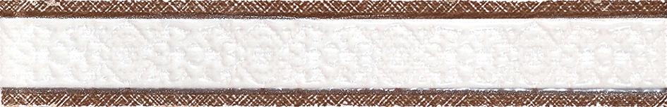 Gracia Ceramica Шамони бордюр (коричневый), 25x4 см фото