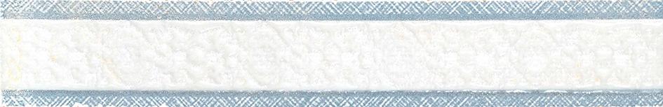 Gracia Ceramica Шамони бордюр (голубой), 25x4 см фото