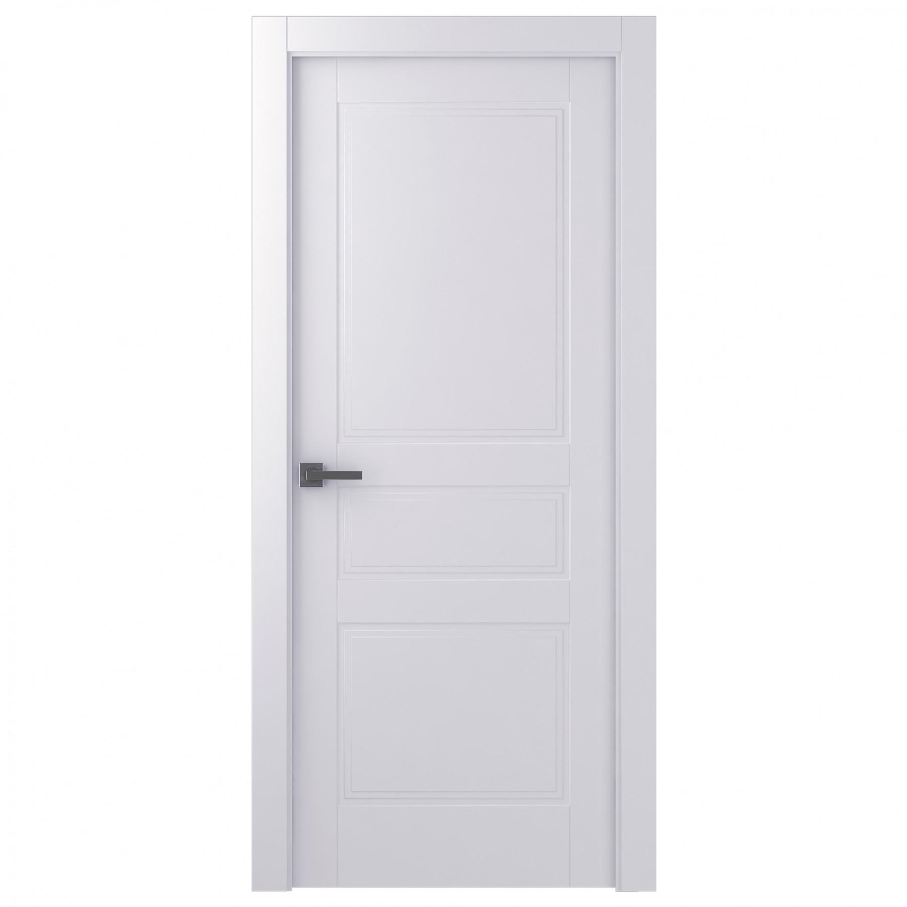 Дверь межкомнатная глухая Belwooddoors Инари 700 х 2000 мм, белая фото