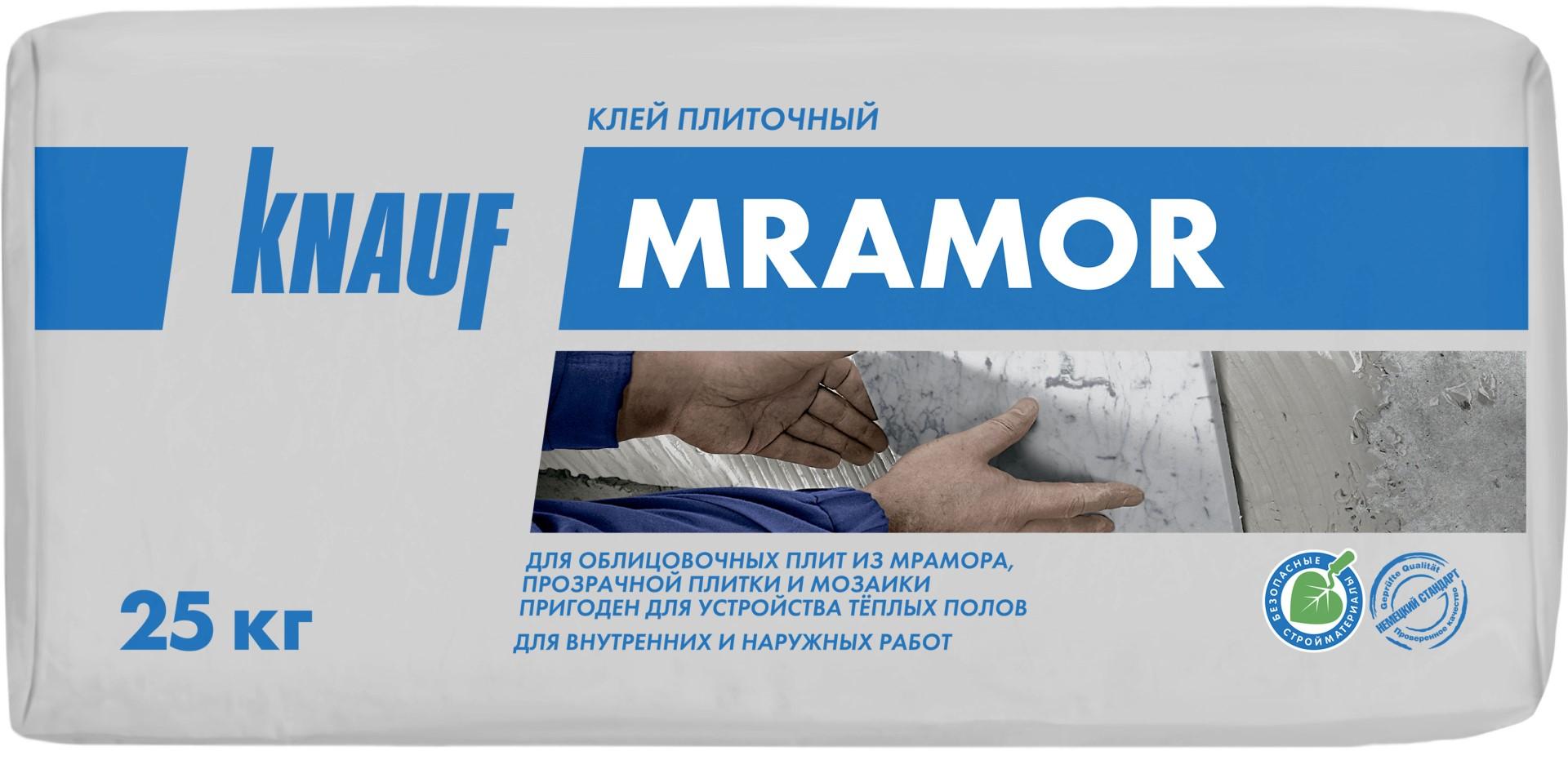 Knauf Мрамор, 25 кг, Клей для плитки