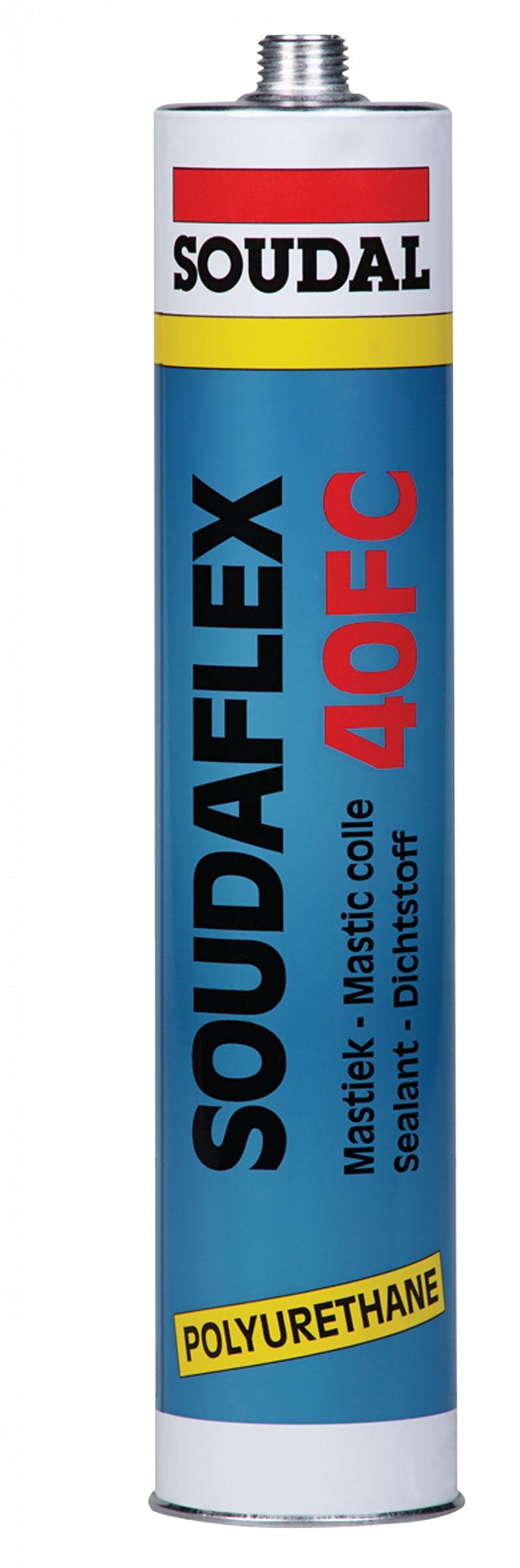 Soudal Soudaflex 40 FC, 600 мл, Герметик полиуретановый коричневый фото