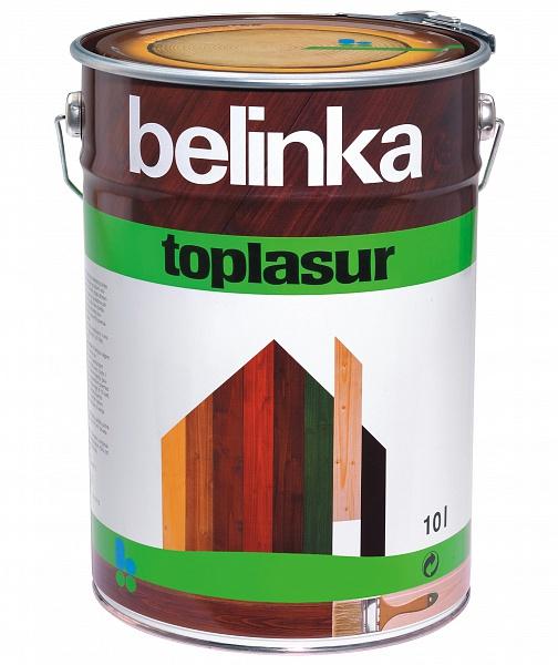 Belinka Toplasur №13, 10 л, Пропитка деревозащитная фото