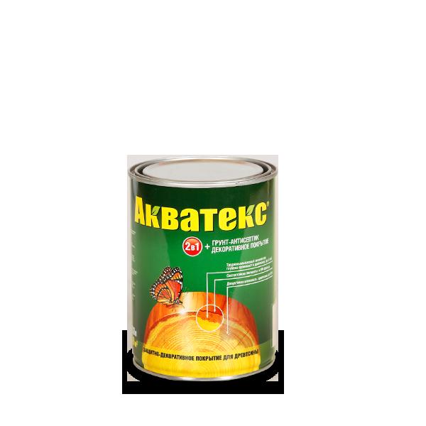 Рогнеда Акватекс, 0.8 л, Грунт-антисептик желтый фото