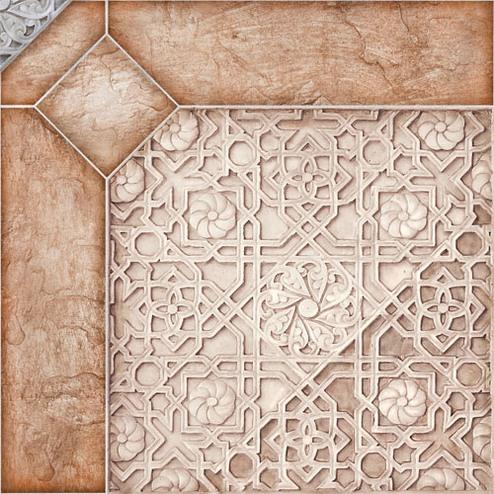 Alma Ceramica Сорренто ПГ3СО004 41.8х41.8 см, плитка напольная (бежевая) фото