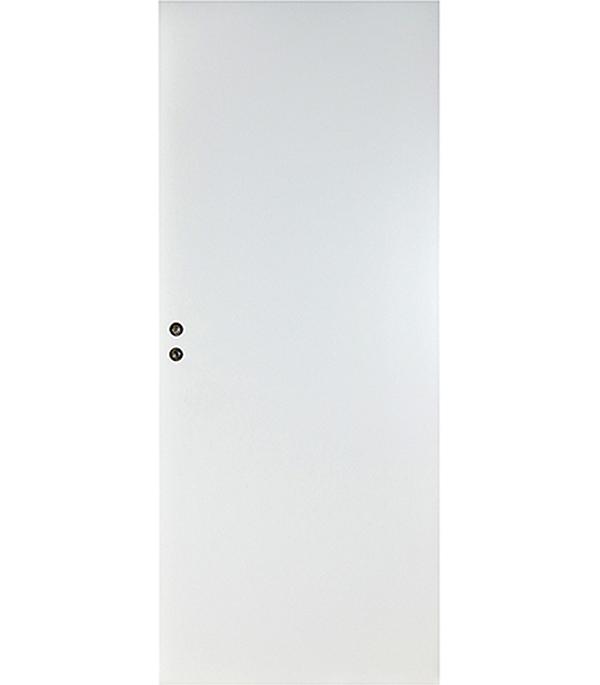 Дверное полотно глухое ламинированная финишпленка Verda (белое), 2036х920 мм фото