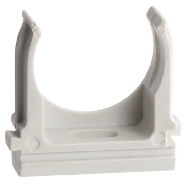 Крепеж-клипса для труб ПВХ EKF PROxima d 20 мм