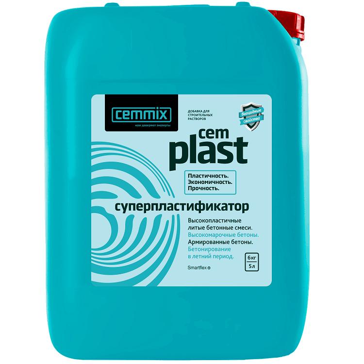 Супер-пластификатор Cemmix Cem Plast 5 л.