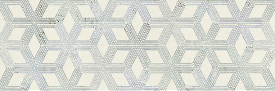 Gracia Ceramica Amelie Grey 02 декор для плитки (серый), 25х75 см фото