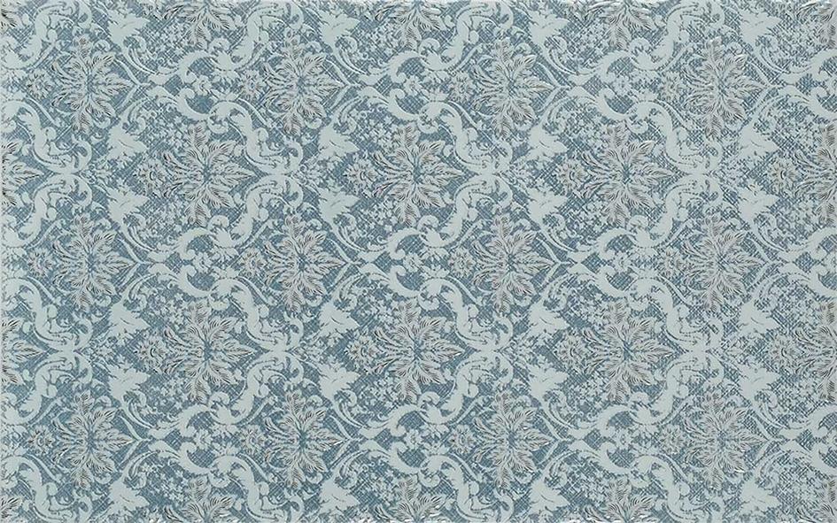 Gracia Ceramica Шамони 01 декор (голубой), 25x40 см фото
