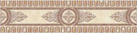 Cersanit Carrara CE5R303 11х44 см, бордюр для плитки (бежевый) фото