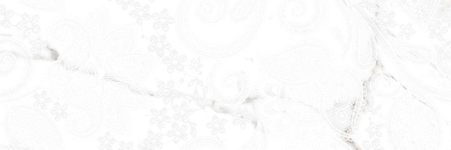 Gracia Ceramica Casa Bella 01 декор для плитки (белый), 25х75 см фото