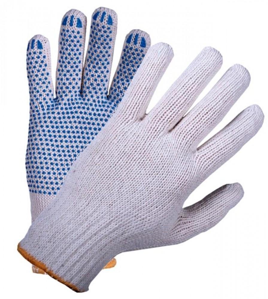 Перчатки ХБ с ПВХ покрытием (4 нити)