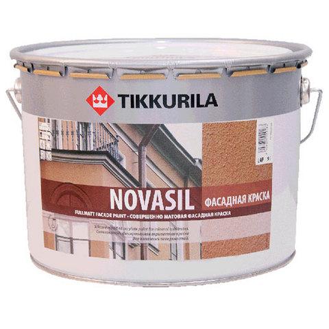 Tikkurila Novasil MRA, 2,7 л, Краска фасадная по кирпичу и бетону акрилатная фото