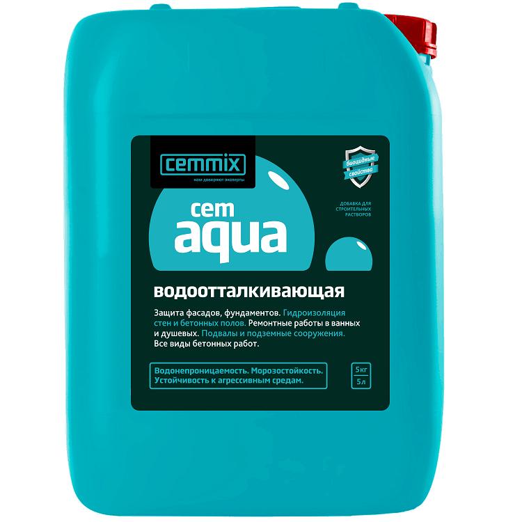 Водоотталкивающая добавка Cemmix Cem Aqua 5 л.