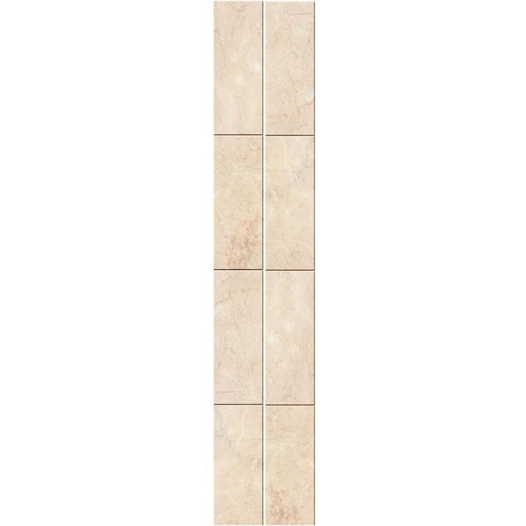 Стеновая панель ПВХ Кронапласт Unique Натуральный мрамор бежевый 2700х250 мм.