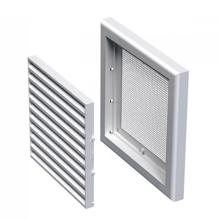 Вентс МВ 100 c 154х154 мм, Решетка вентиляционная приточно-вытяжная (белая) фото