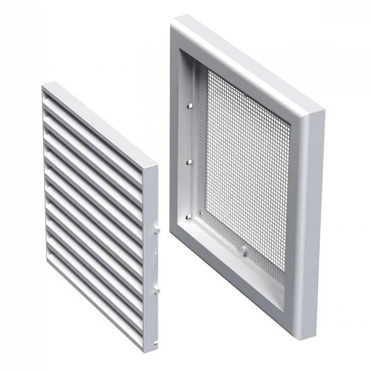 Вентс МВ 121 c 186х186 мм, Решетка вентиляционная приточно-вытяжная (белая) фото