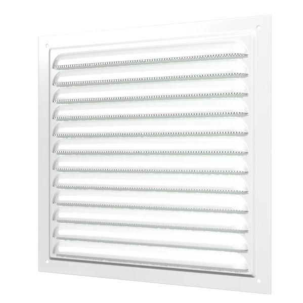Era 2020МЭ 200х200 мм, Решетка вентиляционная вытяжная (белая) фото