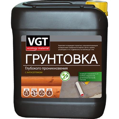 VGT ВД-АК-0301, 5 кг, Грунтовка глубокого проникновения с антисептиком фото