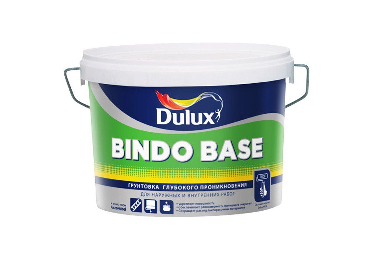 Dulux Bindo Base, 10 л, Грунтовка глубокого проникновения акриловая фото