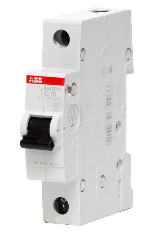 1P ABB SH201L, 63А, C, Выключатель автоматический фото