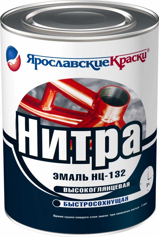 Ярославские краски Нитра 1.7 кг, Грунтовка антикоррозионная нитроцеллюлозная (серая) фото