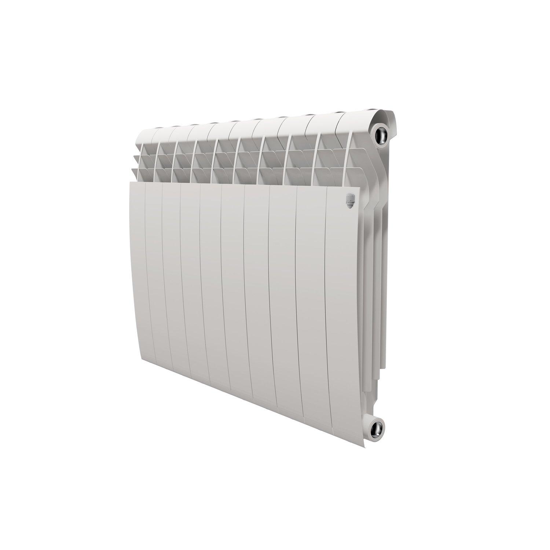 Royal Thermo BiLiner Bianco Traffico 500, Радиатор биметаллический секционный, 10 секций фото
