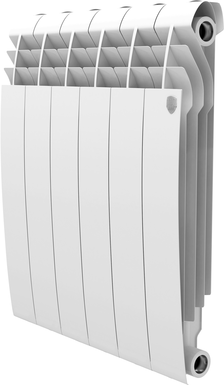Royal Thermo BiLiner Bianco Traffico 500, Радиатор биметаллический секционный, 6 секций фото