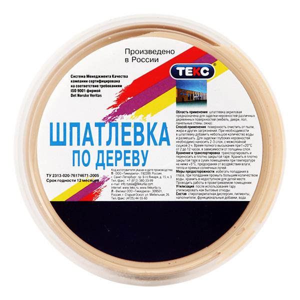 Текс Ре-файн сосна, 0,75 кг, Шпатлевка для древесины фото
