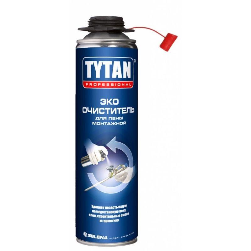 Очиститель для полиуретановой пены Tytan Eco-Cleaner 500 мл.